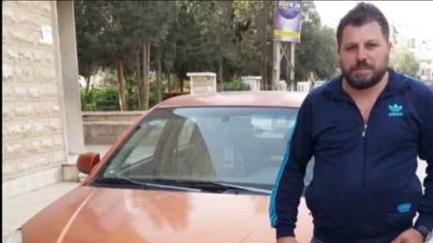Een taxibedrijf in Damascus